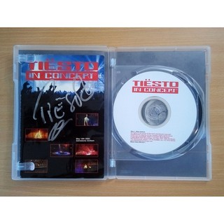 "Signed ""Tiesto In Concert"" DVD"