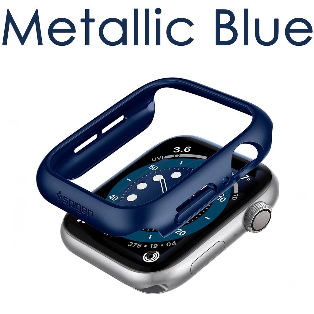 📣✅💯❅❅☬Spigen Thin Fit Case สำหรับ Apple Watch Series 6/SE/5/4 ขนาด 40mm / 44mm หรูหรา แข็งแรง ทนทาน ของแท้แน่นอน