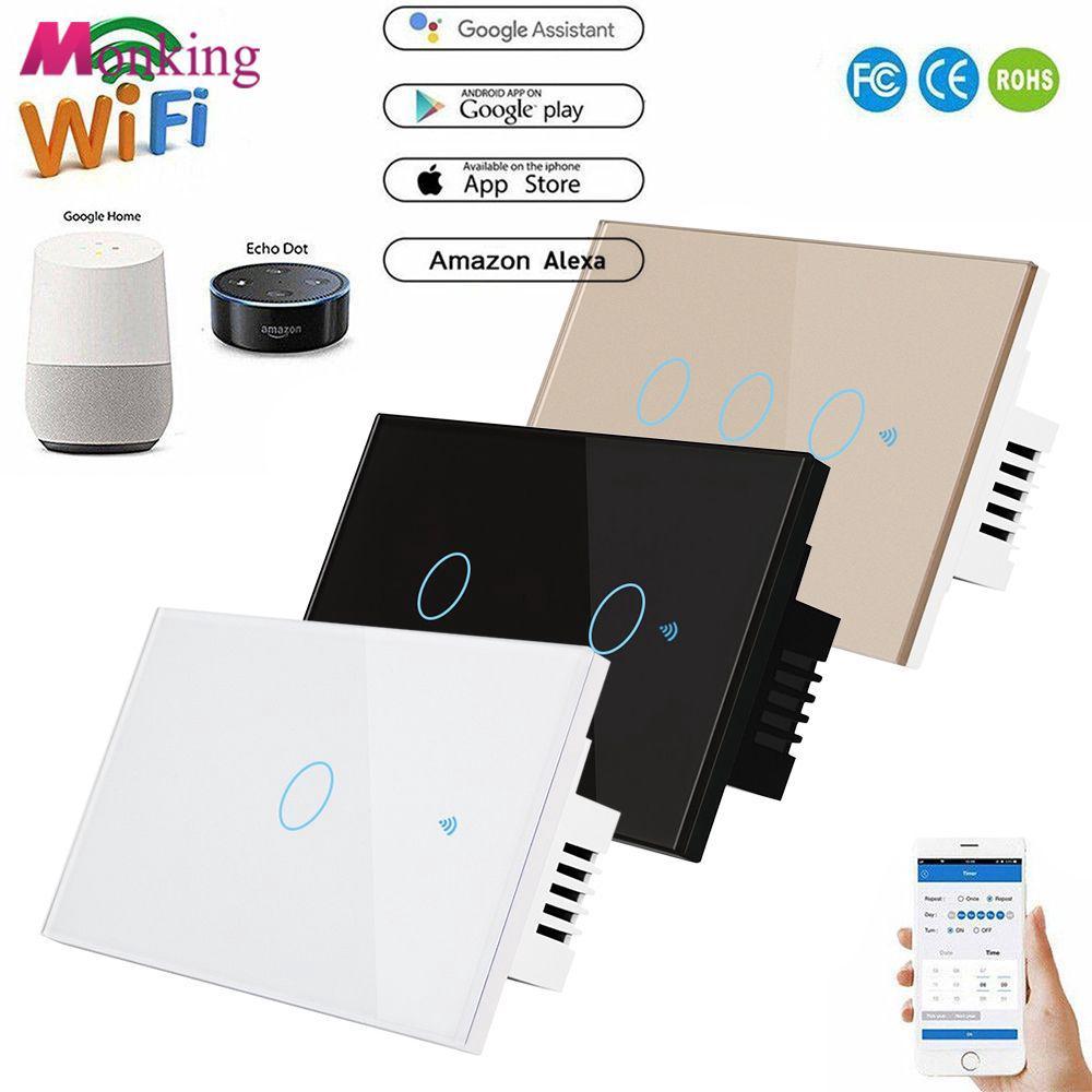 Smart Wall Light Sonoff Gang T1 Itead Wifi Us 3 Au Standard nvNOm80w