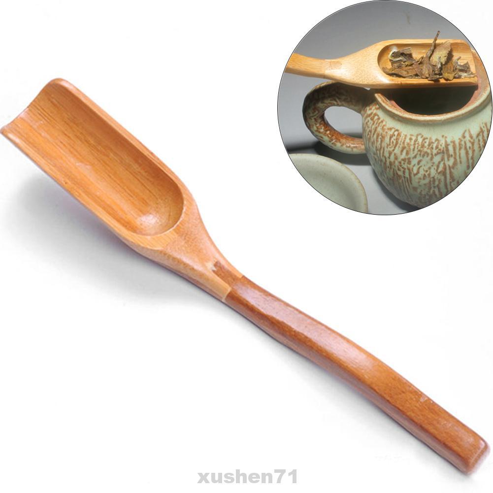 Bamboo Spoon Coffee Teaspoon Matcha Powder Scoop Green Tea Leaves Shovel Tool