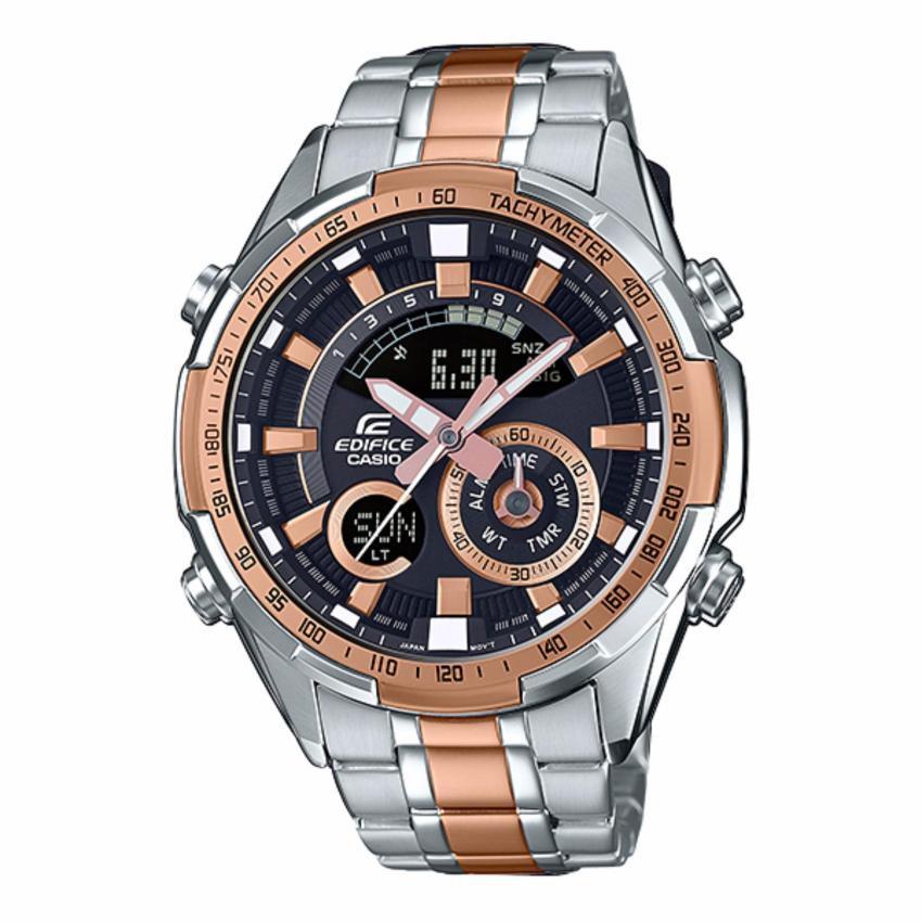 Casio Edificeนาฬิกาข้อมือผู้ชาย สายสแตนเลส รุ่นERA-600SG-1A9(Silver)