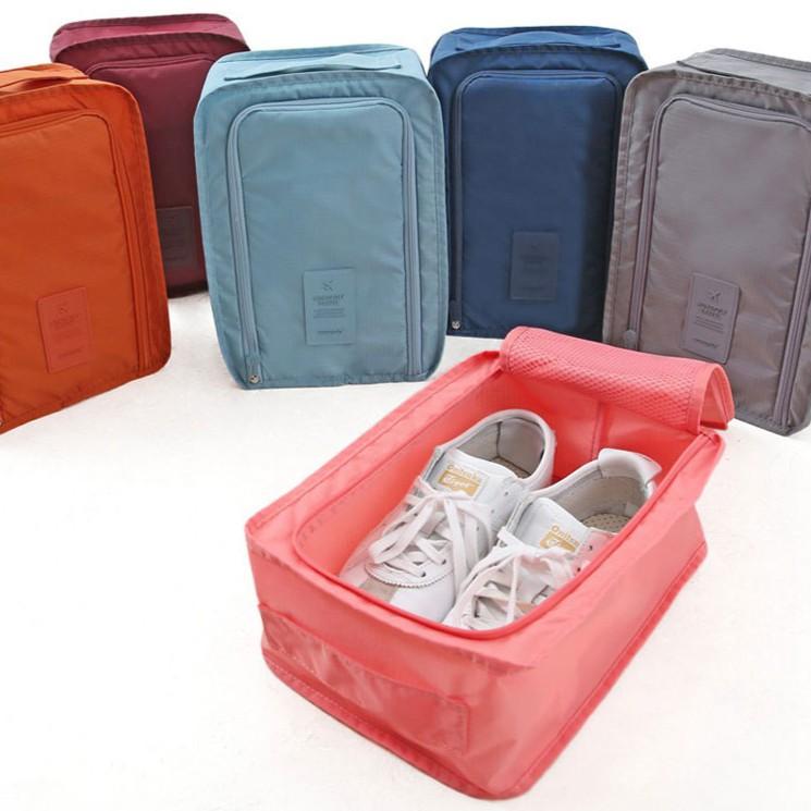 Korean KD 721 กระเป๋าเสริมเดินทางสไตล์เกาหลี กระเป๋าใส่รองเท้าพับเก็บได้