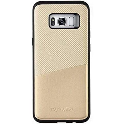 เคส Totu Jazz Series - Card Slot Version Case for Galaxy S8 - Gold ของแท้สินค้านำเข้า