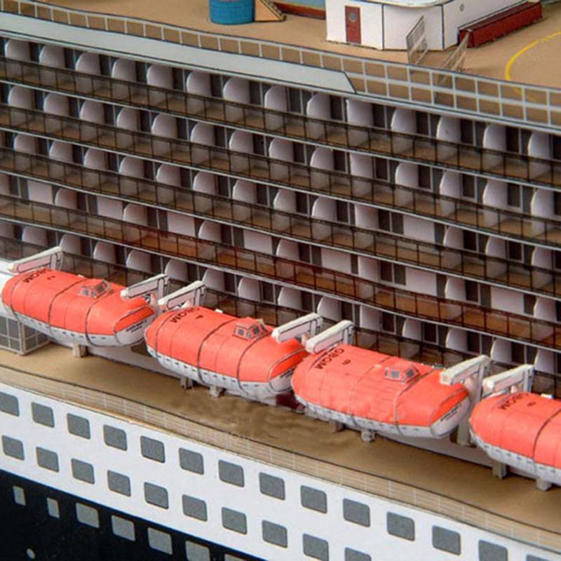 DIY HMS Prince of Wales Battleship Model Ship Military Warship Paper Model  Kit