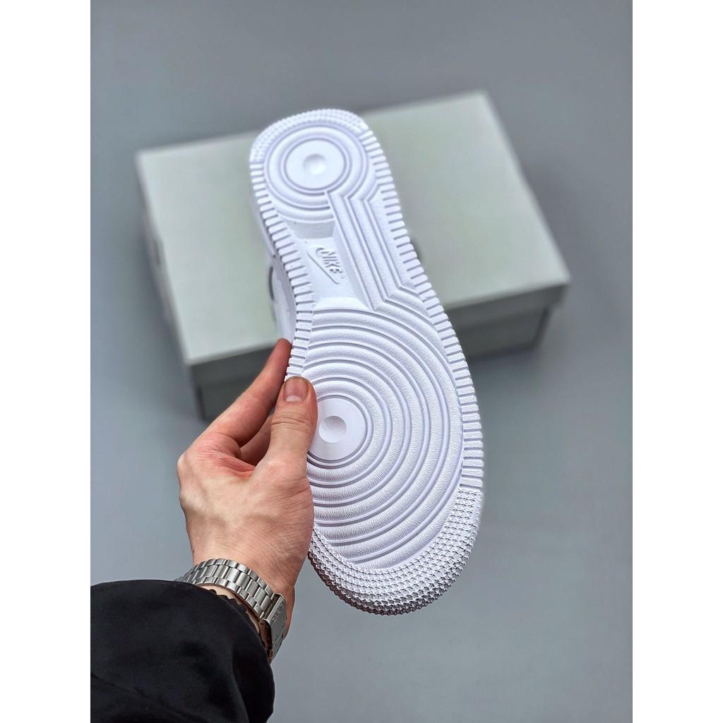 สะท้อนแสง Nike Air Force 1 Low Silver 3M