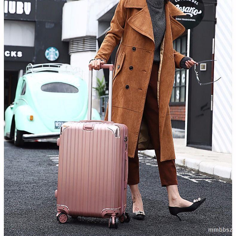 กระเป๋าเดินทางสไตล์เกาหลี 24 นิ้ว 26 นิ้ว