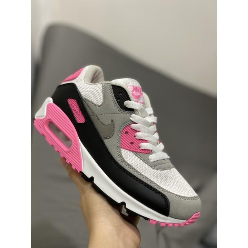 รองเท้าผู้หญิง Nike AirMax90 ขาวชมพู