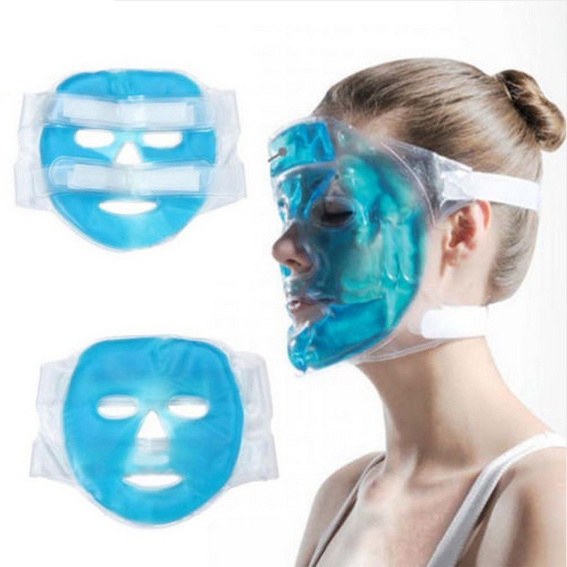 Cooling Pack Headache Gel Skin Relief Face Care Ice Relaxing Mask