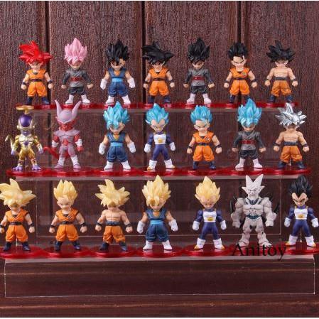 ฟิกเกอร์ DRAGON BALL Super Gohan Vegeta freeza Son Goku Goku 21ชิ้น/set ร้านมี กล่องสุ่ม สอบถามได้ ดราก้อนบอล โกคู