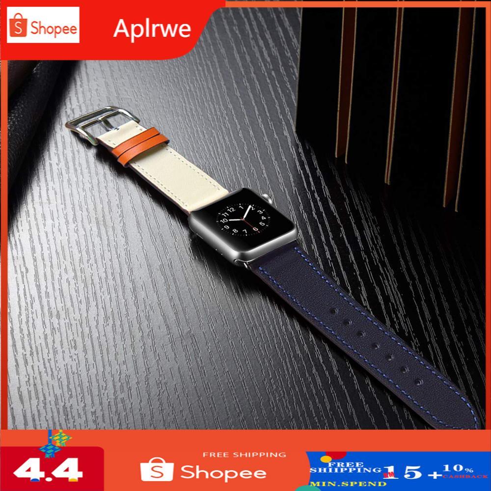 Eastar สายนาฬิกาข้อมือหนังคุณภาพสูงสําหรับ Apple Watch Band Series 4 3/2/1 42 มม. 38 มม. 44 มม. สําหรับ Iwatch 5 Band 40 มม. 44 มม.