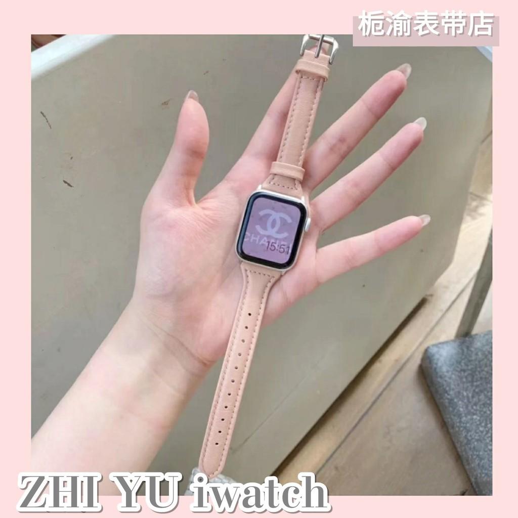สายนาฬิกาข้อมือหนังสําหรับ Applewatch / Se Iwatch5 / 4 / 3
