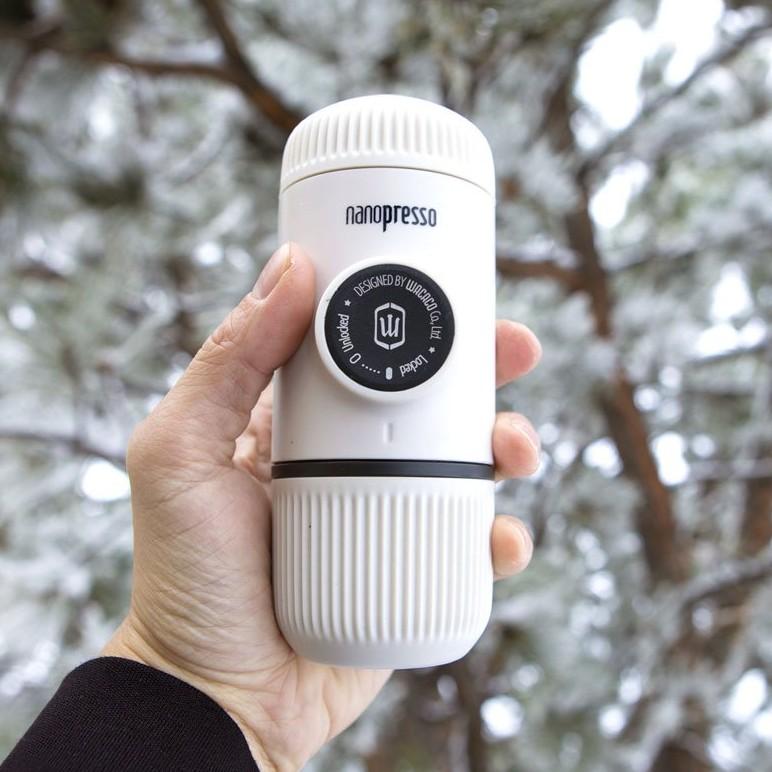 Wacaco Nanopresso Coffee Maker (รุ่นใหม่ 8 สี) เครื่องชงกาแฟพกพา เครื่องทำกาแฟ พกพา สายแคมป์ แคมปิ้ง มีประกัน
