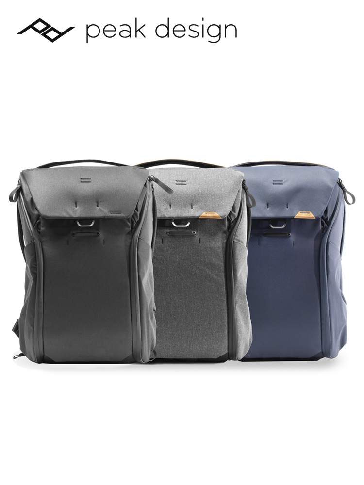 camera bag ดีไซน์สุดเจ๋งPeakDesign Everyday Backpack 20L 30L V2กระเป๋าเป้สะพายหลังเดินทาง PDแพคเกจการถ่ายภาพความจุขนาดให