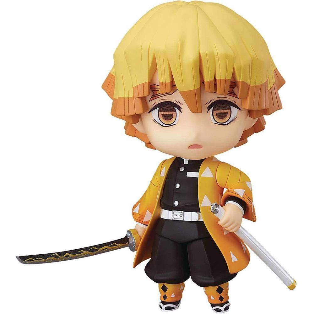 อินุยาฉะGood Smile Demon Slayer GSC Zenitsu Agatsuma Nendoroid Action Figure Multicolor Anime Figura Model Collection Ki