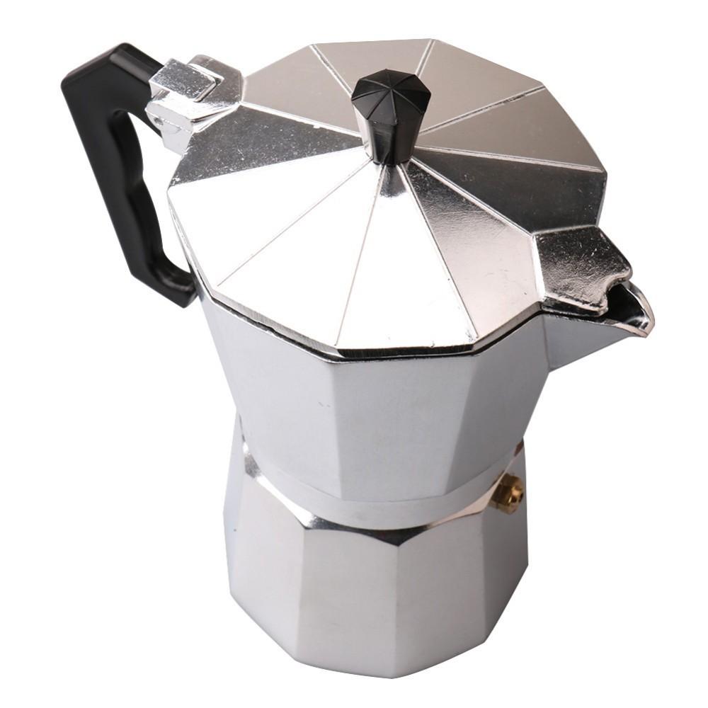 ถูกที่สุด หม้อต้มกาแฟ กาต้มกาแฟ MOKA POT เครื่องชงกาแฟสดแบบพกพา สไตล์อิตาเลียน ทำกาแฟสด มอคค่าพอท [ThxBrew] Free Shippi