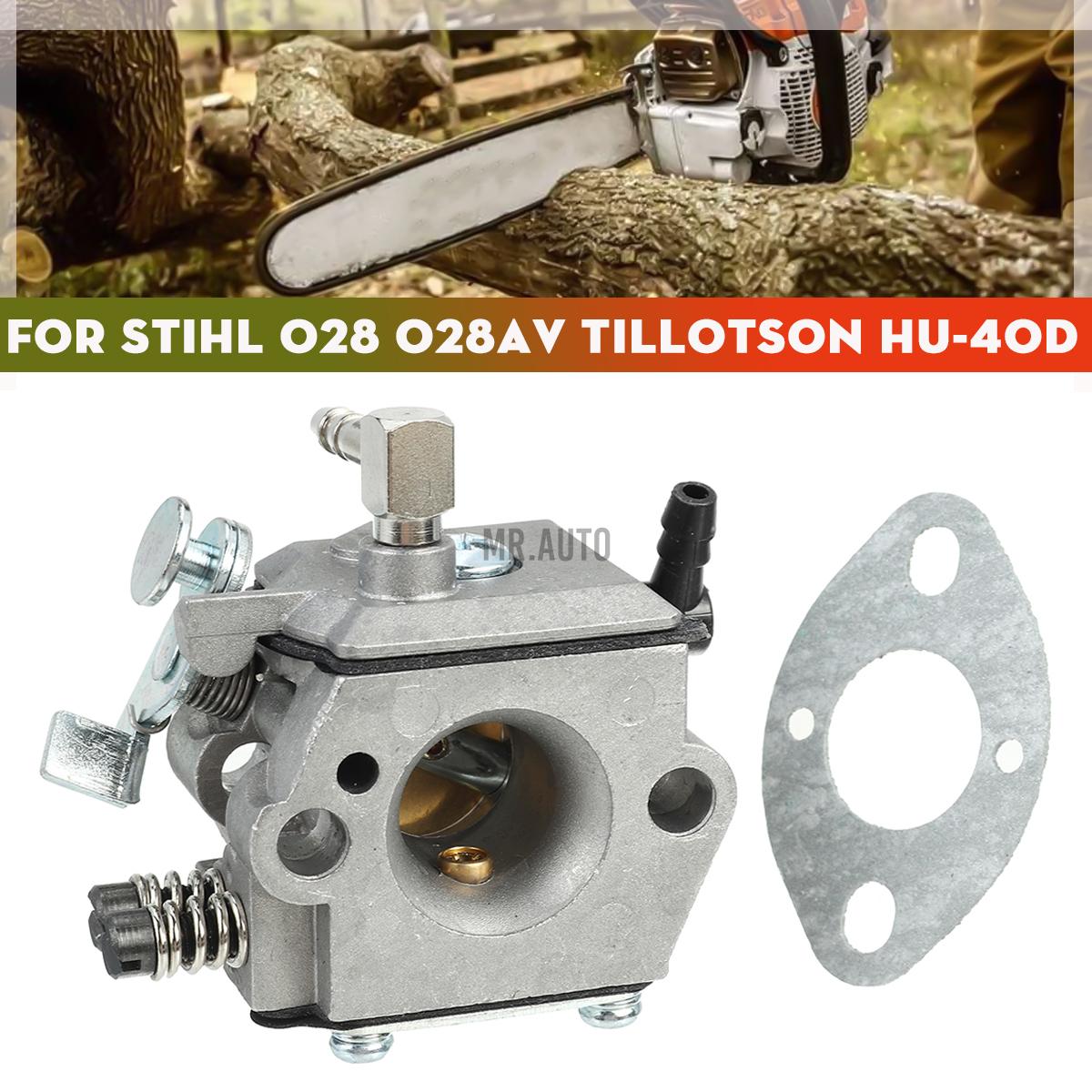 คาร์บูเรเตอร์สําหรับ Stihl 028av Tillotson Hu - 40 D Walbro Wt - 16 B