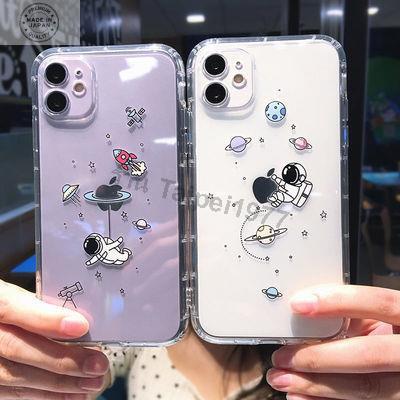 เคสไอโฟน 12 case iphone12 case iPhone 12 Pro /case iPhone 12 Pro MaxCute Astronaut 12pro Apple 11 เคสโทรศัพท์มือถือ iPho