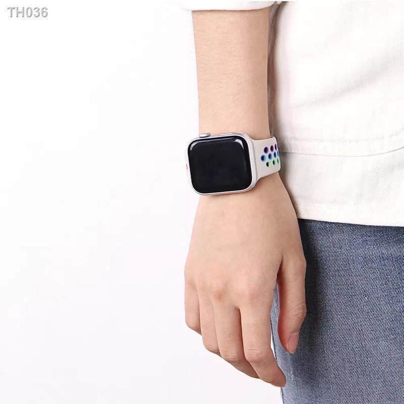 ♨☑ↂ🔥New🔥 สาย Apple Watch Sport BAND FOR Series 1,2,3,4,5 สายนาฬิกา