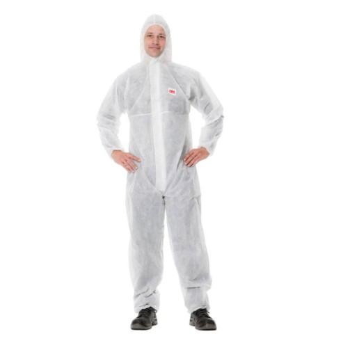 ชุด PPE 3M 4500 ชุดป้องกันฝุ่น ป้องกันเชื้อโรค และสารเคมี ของแท้100% พร้อมส่ง