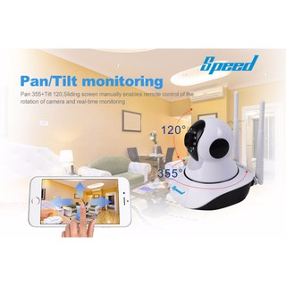 Speed CCTV 720P WIFI IP Camera HD 1.0MP Video Surveillance P2P Home Security Monitor Camera Wireless IR Cut