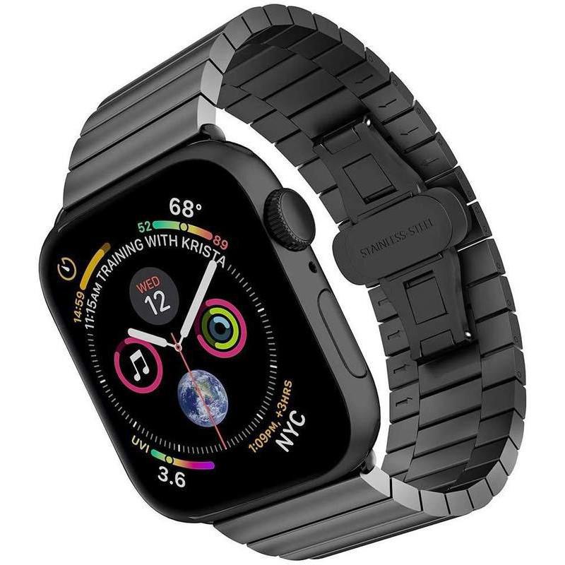 สายนาฬิกาแอปเปิ้ลiwatchนาฬิกาสายคล้องโซ่สแตนเลสapplewatch SE/6/5/4/3/2รุ่นseries 38/42mm40/44อุปกรณ์เสริมสายรัดหนึ่งหรือ