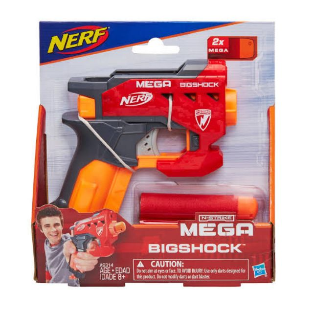 Nerf N-Strike Mega BigShock Blaster Gun ปืนเนิร์ฟ เมก้า Big Shock