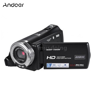Andoer V12 1080P Full HD 16X Digital Zoom Recording Video