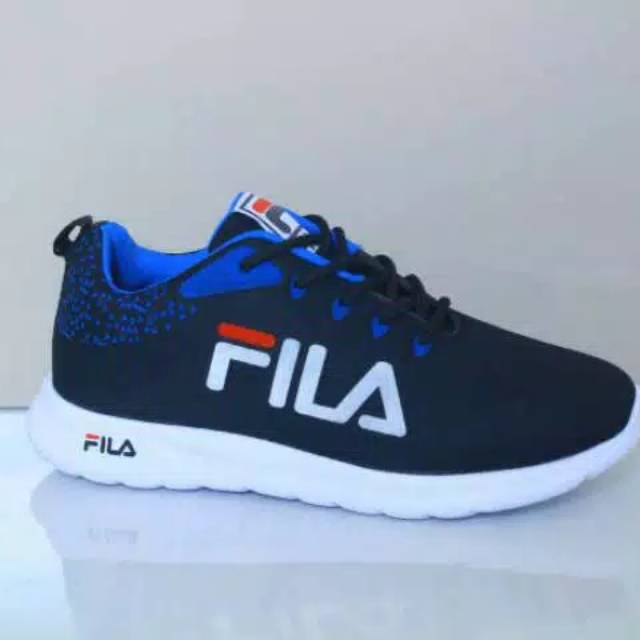 รองเท้าผ้าใบ Fila Salvoni รองเท้าวิ่งสําหรับผู้ชาย