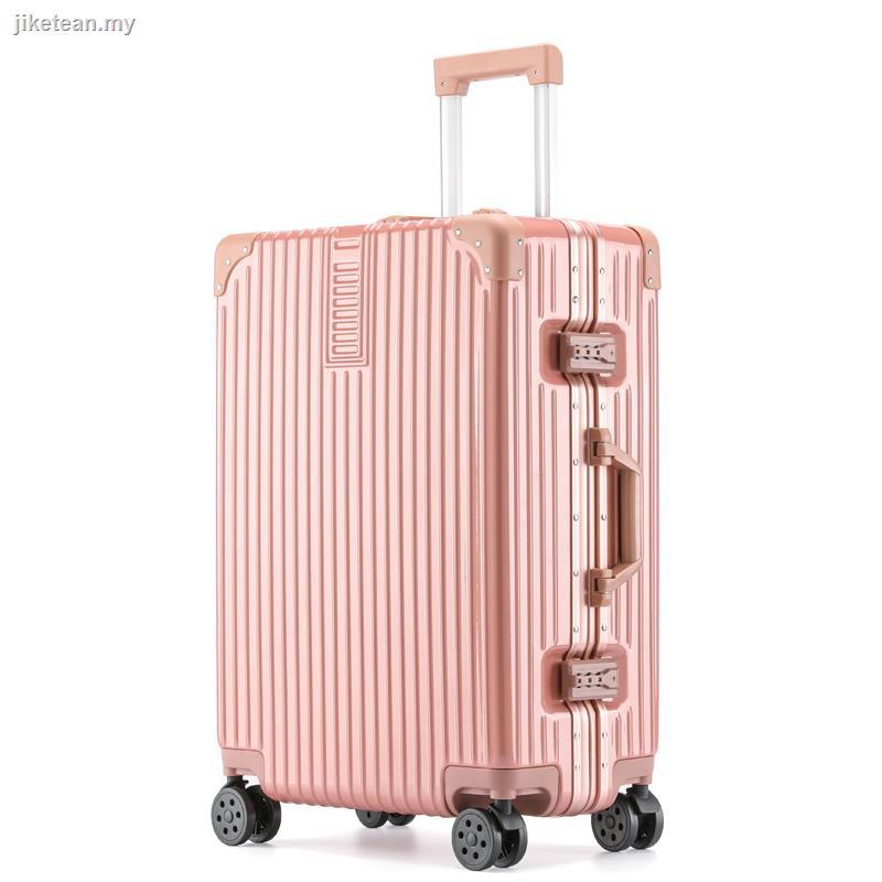 กระเป๋าเดินทางอลูมิเนียม Wanxianglun 24 นิ้ว 26 นิ้วสําหรับผู้หญิงและผู้ชาย