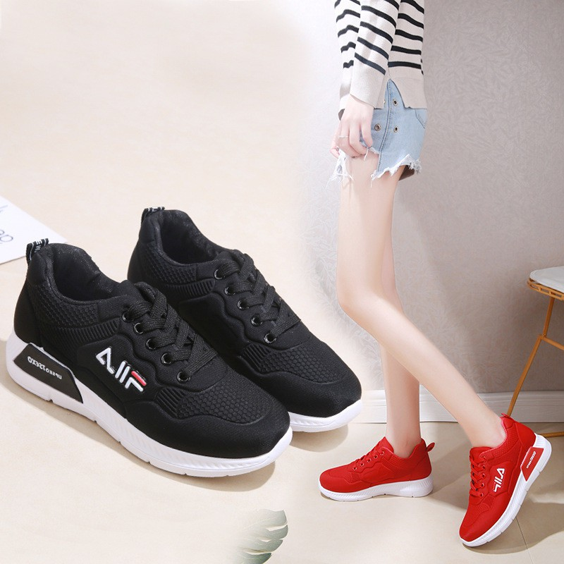 Women's sneakers Filaรองเท้าผ้าใบแบรนด์เนมรองเท้ากีฬาผู้หญิงรองเท้าวิ่ง2 สีรองเท้าผ้าใบ