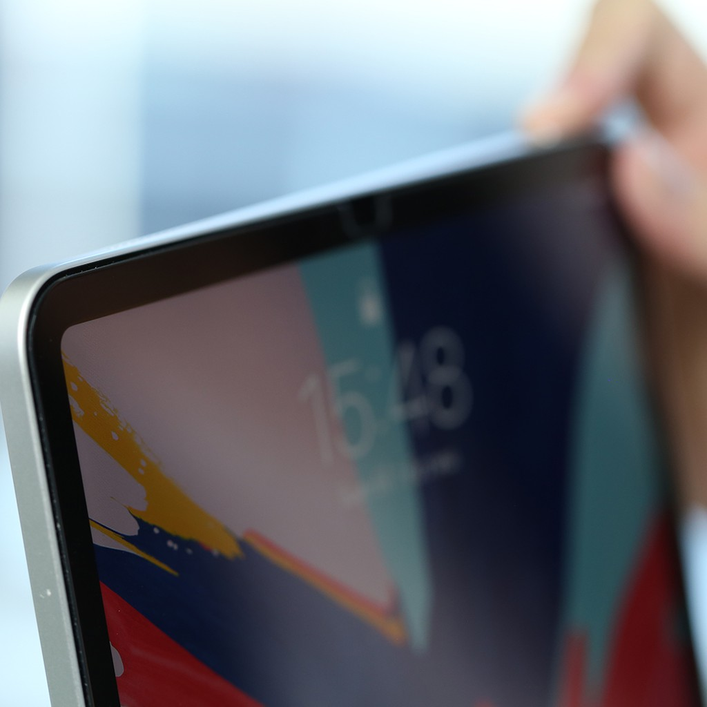 Image # 1 of Review Hi-Shield Tempered glass  iPad Pro (2018) 12.9″นิ้ว (แบบใสเต็มจอ)