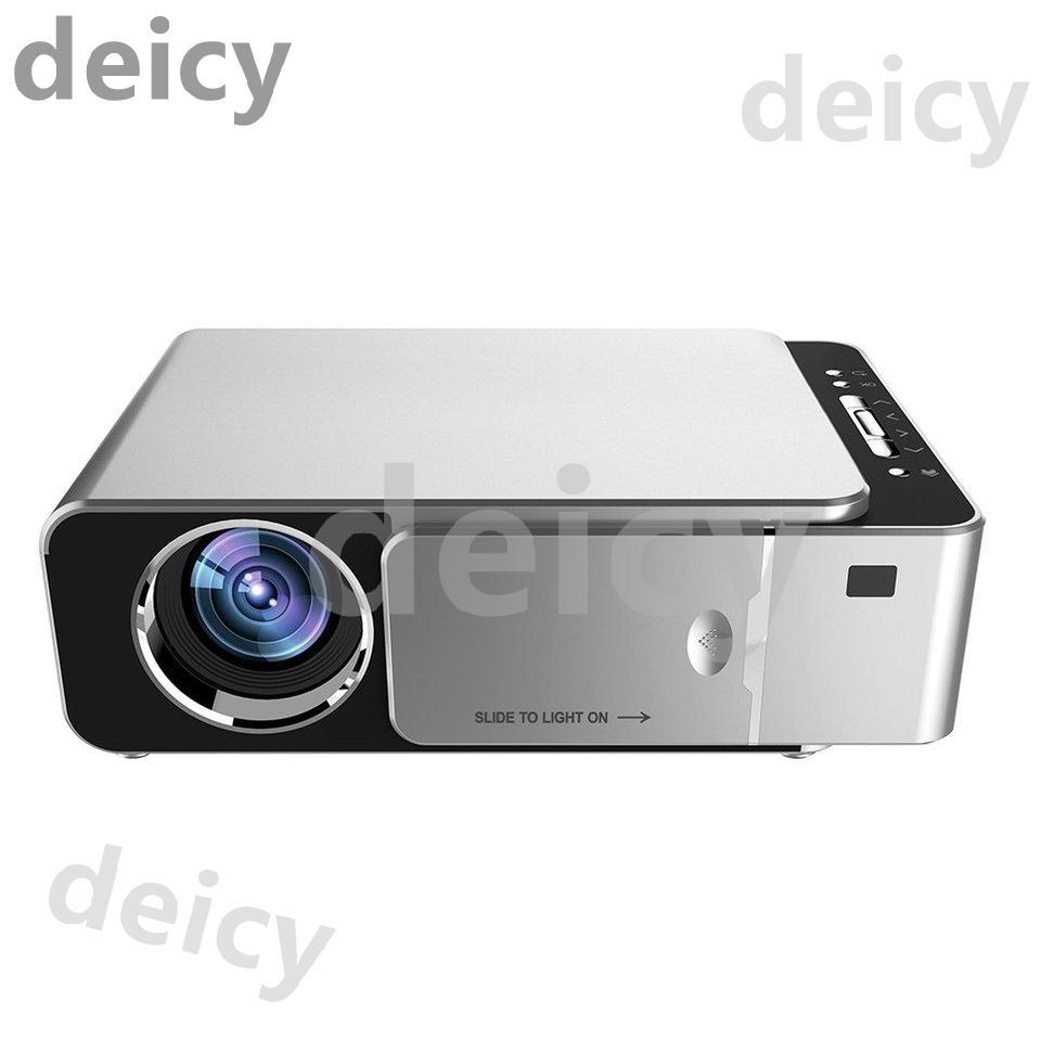 ( Dey ) T 6 Hd Led โปรเจคเตอร์ขนาดเล็กแบบพกพาสําหรับ Home Cinema Projector