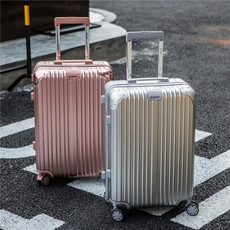 กระเป๋าเดินทางแบบมีรหัสผ่านขนาด 20 26 นิ้ว 28 กล่อง