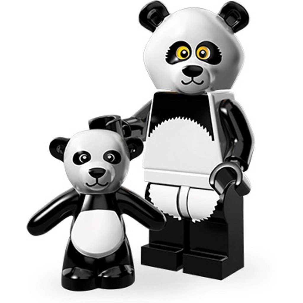 New Lego Movie Minifigures 71004 Panda Guy