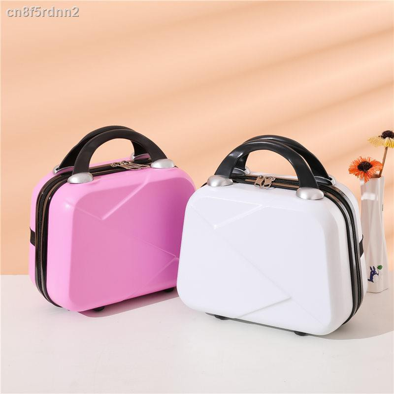 เก็บกระเป๋าไปด้วย✈กระเป๋าเดินทาง 14 นิ้ว กระเป๋าเครื่องสำอาง กล่องเล็กน่ารัก กล่องเล็กน่ารัก มินิน่ารัก ที่เก็บเครื่องสำ