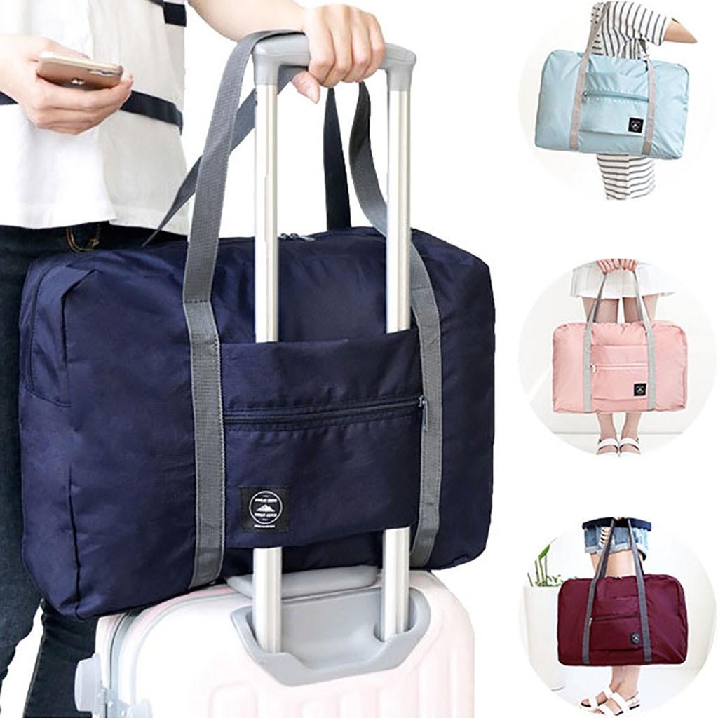 กระเป๋าเดินทางพับเก็บได้ 48x32 X 16 ซม . / 18 . 90x12 . 60x6 . 30 นิ้ว