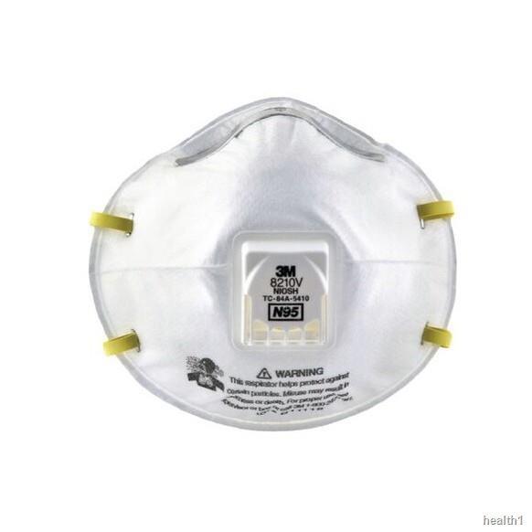 ✉3M หน้ากากกันฝุ่น คาดศรีษะ VFLEX N95 รุ่น  9105, 8210, 8210V, 9001