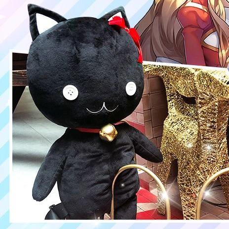 เป้ตุ๊กตาแมวดำ มอนเตอร์ เกมส์ Ragnarok Online Black Cat Lemegeton Backpack ความยาว 21 นิ้ว