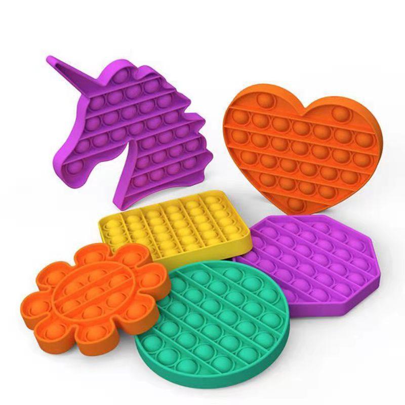 ♦▫✨พร้อมส่ง✨ส่งจากกรุงเทพpop itของแท้สีรุ้ง ไอติมพาสเทล ไดโนเสา Pop it Push Pop Bubble Toys ของเล่นปุ่มกด บับเบิ้ล คลายเ