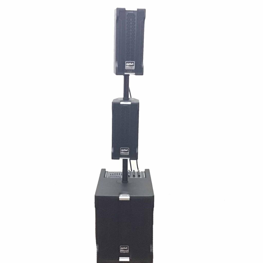 HOTROCK HF-034S  ชุดลำโพง เพาเวอร์มิกเซอร์  2.1 CH Builtin บลูทูธ USB /ซับ 1 ใบ กลางแหลม 2 ใบ(ไม่รวมขาตั้ง)