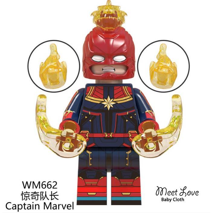 Lego Captain Marvel เลโก้ กัปตันมาร์เวล เลโก้อเวนเจอร์ พร้อมส่ง