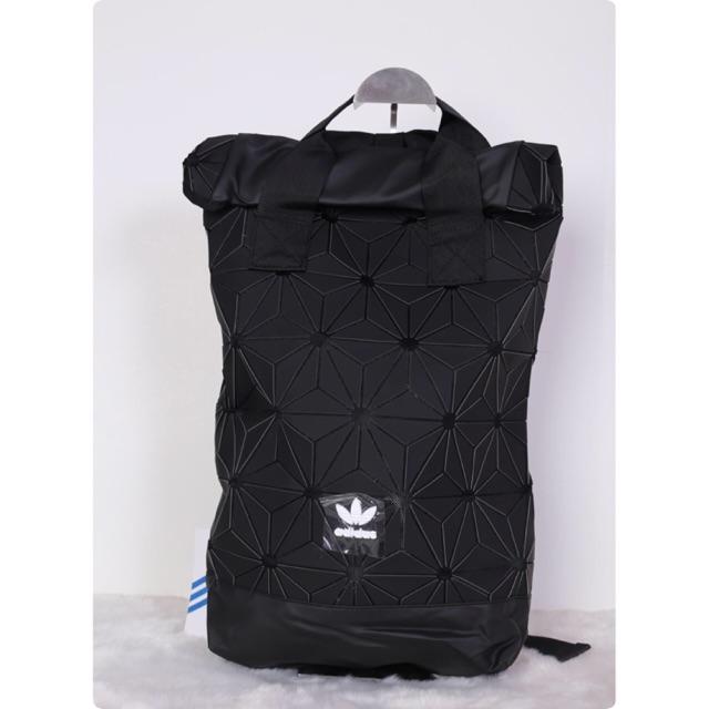 🔥 พร้อมส่ง!! มาครบสีจ้า!! Adidas Originals BP Roll Top 3D Mesh 2017 Black Backpack Bag