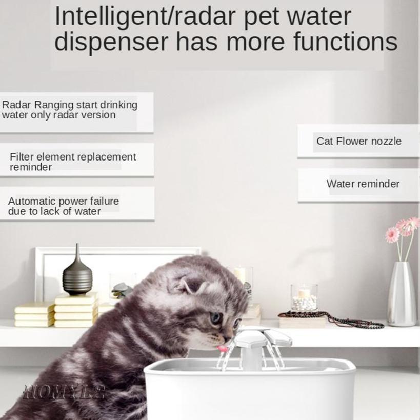 Intelligent Water Dispenser Automatic Pet Dog Water Fountain Water Dispenser