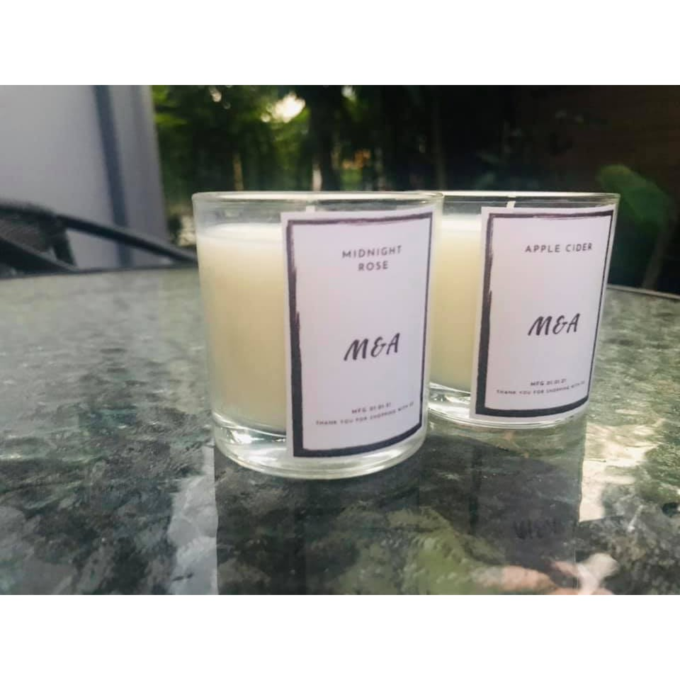 เทียนหอม กลิ่น Midnight Rose+Apple Cider