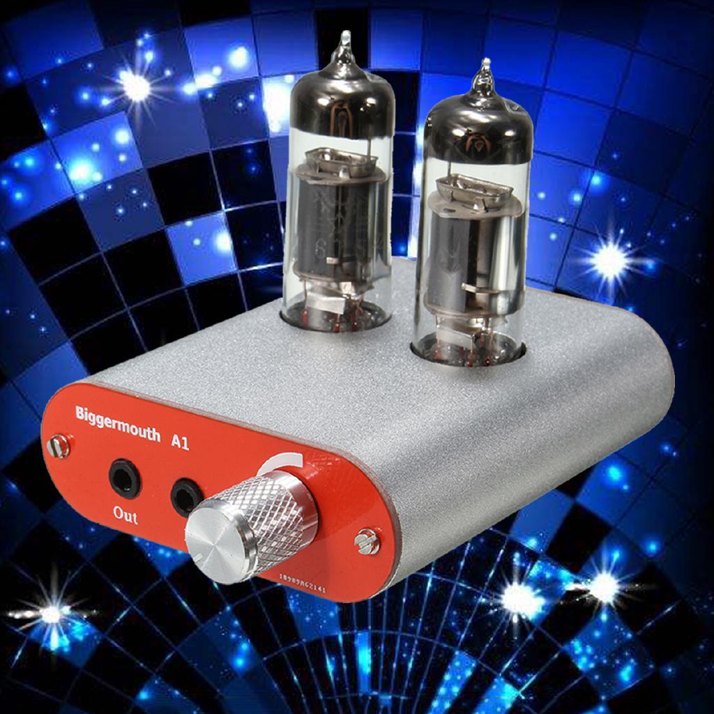 HIFI Fever Level Audio Headphone Amplifier 6J5 Tube Valve Multi-Hybrid DIY  Amp