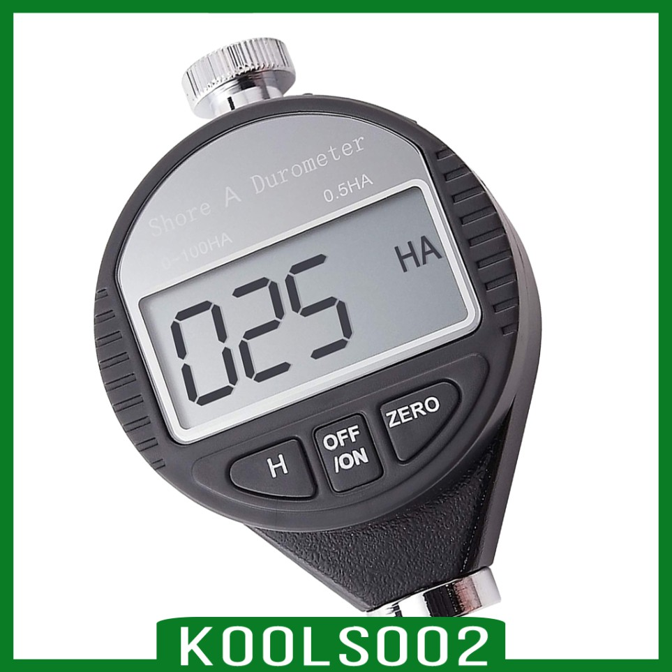 [KOOLSOO2] Digital Shore Hardness Durometer Tire Rubber LCD Display Meter Shore A/C/D