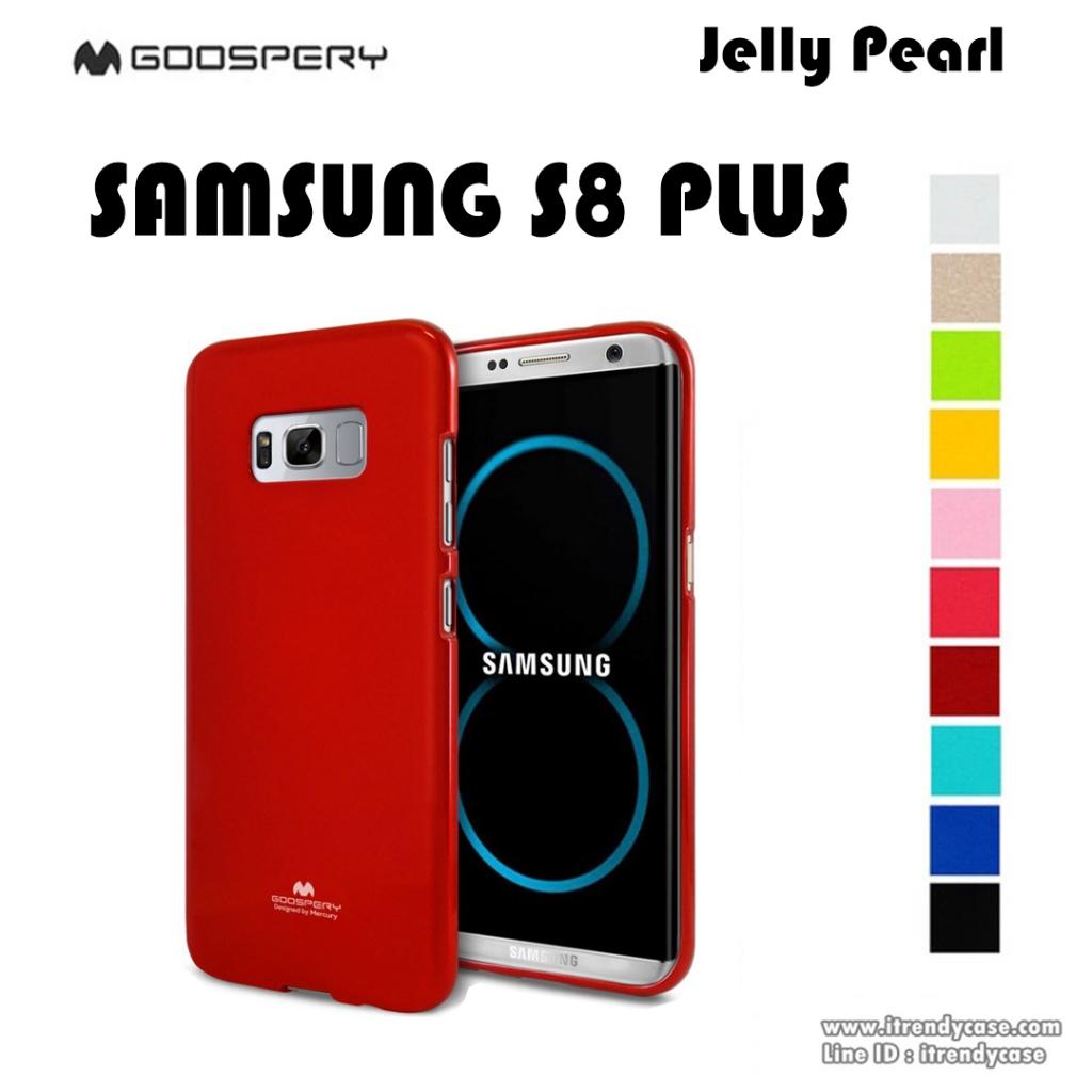 Samsung S8 Plus - เคส TPU Mercury Jelly Case (GOOSPERY) แท้