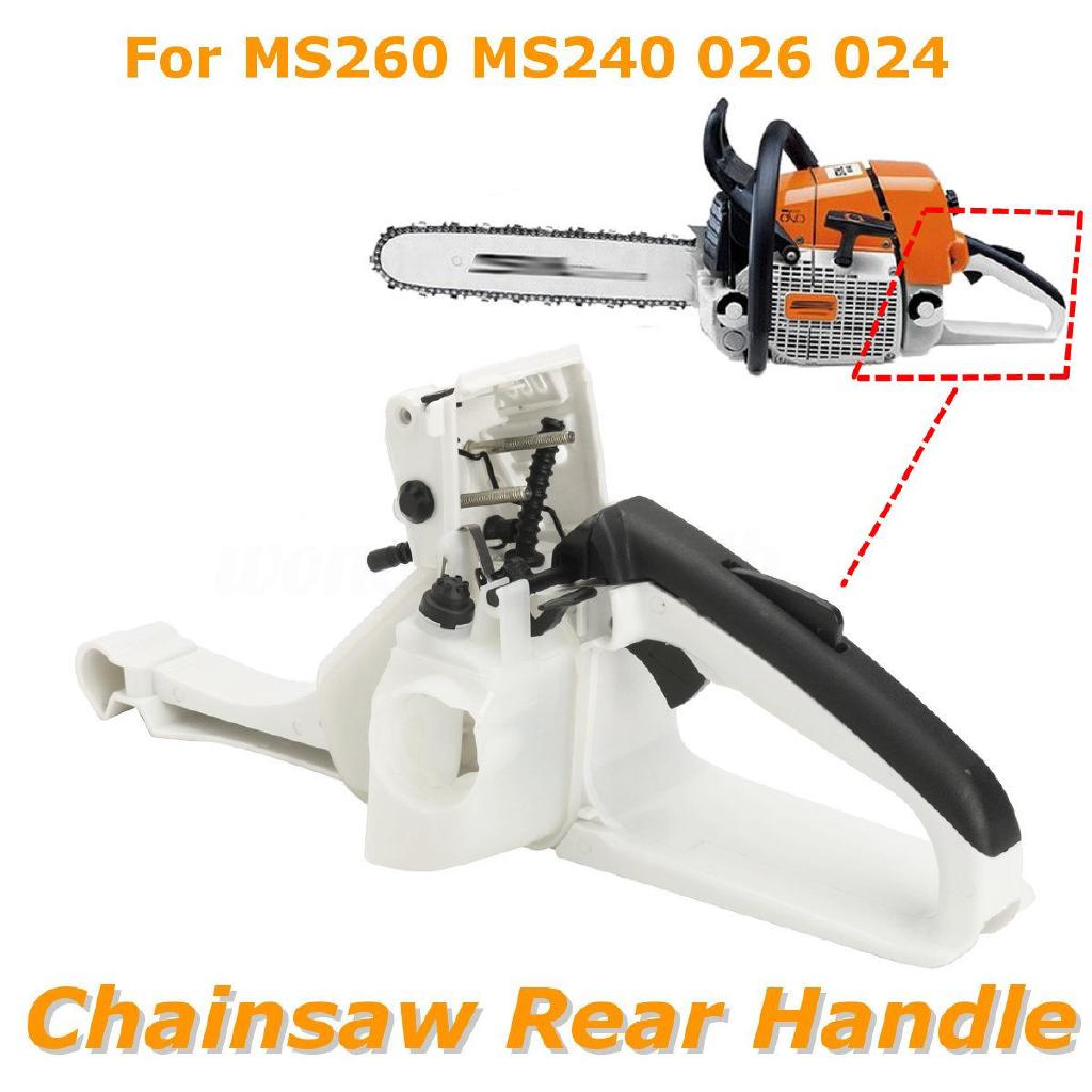 Rear Handle Fuel Tank Assembly Fits Chinese Chainsaw 4500 52