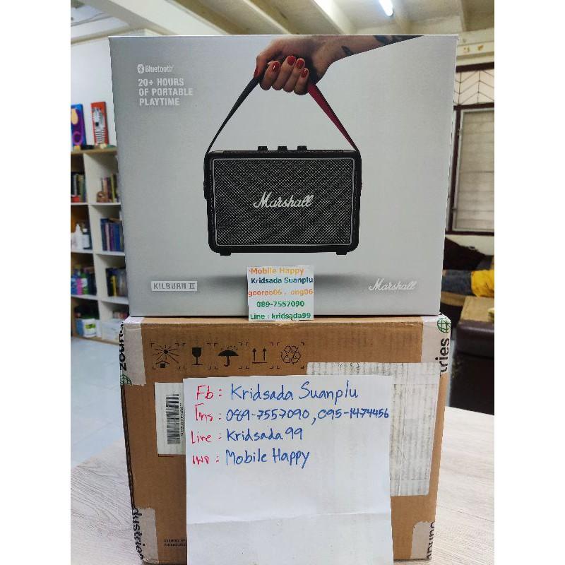 Marshall Kilburn2 Black สีดำ ของแท้ 100% สั่งจาก Marshall มีหลักฐานการสั่งและใบเสร็จ ของใหม่ มือ1 อุปกรณ์ครบ