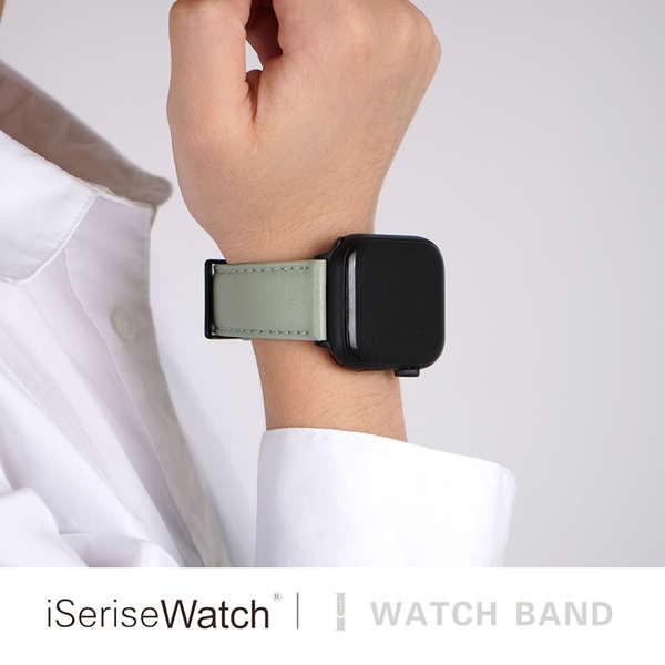 สาย applewatch iserisewatch Apple Watch รุ่นที่ 5 สายนาฬิกา iwatch6 สำหรับผู้ชายและผู้หญิง applewatch1 / 2/3/4 / SE รุ่น